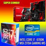 Combo Actualizacion Pc - Intel Core I7 6700k + Msi Z170a M5