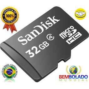 Cartão De Memória Micro Sd 32gb Lacrado Pronta Entrega