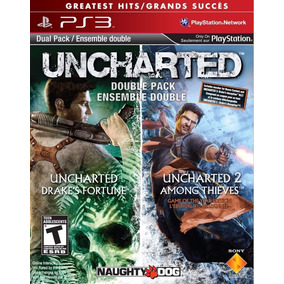Uncharted Greatest Hits Dual Pack (uncharted 1 E 2) Ps3 Psn