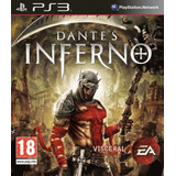 Dantes Inferno Ps3 Playstation 3 Dantes Psn Play3