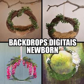 Backdrop Digital Newborn Pacote Com Mais De 100 Imagens