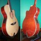 Guitarras Electro Criollas Media Caja Parquer Ecu Y Afinador