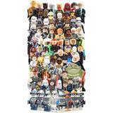 Coleccion 40 Aniver 85 Figuras Star Wars Compatible Con Lego