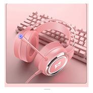 Audífono Usb Rosa Venyasol - Sonido 7.1