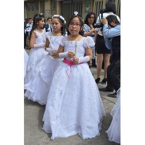 Vestido De Primera Comunión Completo Talla 10 Completo