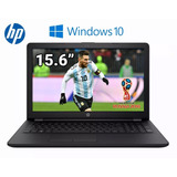 Notebook Hp Amd A6 4gb Ram 500 15.6 Hd Hdmi Nueva Windows 10