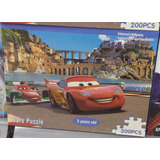 Quebra Cabeça Puzzle Disney 200 Peças - Carros