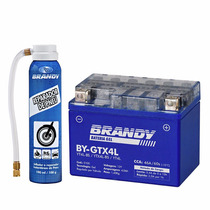 Bateria Honda C 100 Biz Ks 2002... Gel Brandy By-gtx4l + Rep