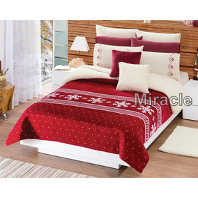 Cobertor Borrega Navideño Ind/ Mat Cd