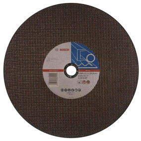 Disco Abrasivo Corte Standard Metal 14 2 Mallas Bosch