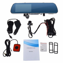 Espejo Retrovisor Multimedia Dvr + Gps + Wifi + Cam Trasera!