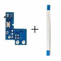 Botão Power + Flat Flex Flet Slim Ps2 900xx Placa Reset Psp