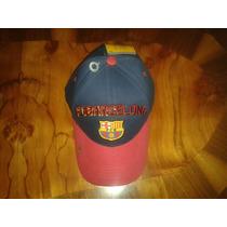 Muy Bonitas Gorras Oficiales Del Equipo Barcelona