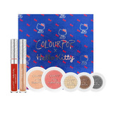 Colour Pop X Hello Kitty Estuche Sombras Rubor Labial Sanrio