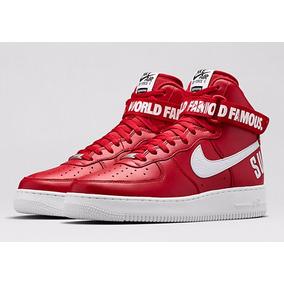 Tenis Nike Air Force Word Famous Supreme Bota Cano Alto
