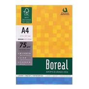 Resma A4 Boreal 75gr Papel Blanco Envíos