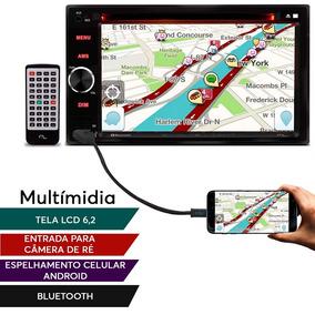 Central Multimídia Santana Evolve Dvd 2 Din Mp3 Tela 6,2
