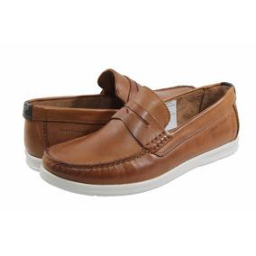 Zapatos Hombre Mocasín Hush Puppies Nautico Cuero