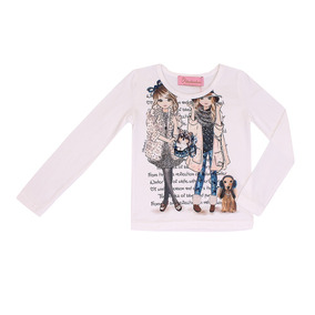 Blusa Pituchinhus Cotton 2 Meninas