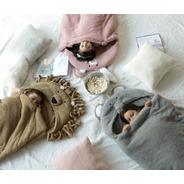 Bolsa Dormir Infantil Palette Flannel Fleece Con Corderito