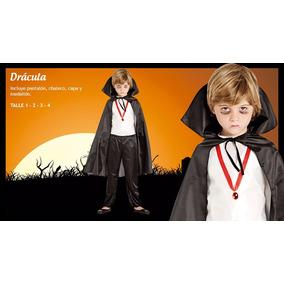 Disfraz De Drácula Niño Talle 1