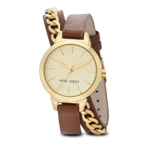 Reloj Nine West Modelo: Nw2082chbn Envio Gratis