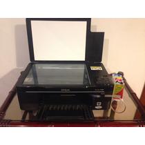 Impressora Multifuncional Epson Tx125 Bulk Ink (c/defeito)