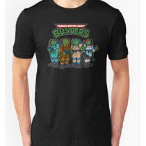 Playera O Camiseta Ghost Busters Tortugas Ninja Mutantes