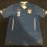 Camisa Italia 9 Balotelli Exclusiva - Futebol no Mercado Livre Brasil dc27f71dc9250