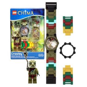 Lego Año 2013 Leyendas De Chima Serie Reloj Con Minifigures