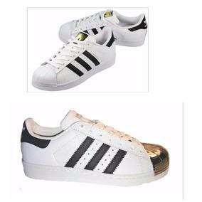 adidas Superstar Clasicas Y Clasicas Puntera Metal. Nuevas!