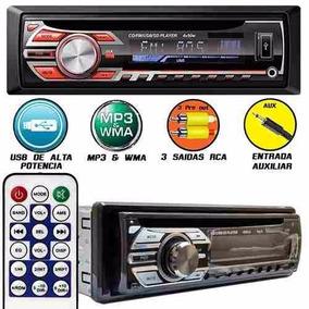 Auto Radio Cd Player Mp3 Usb Sd Card Auxiliar Rayx Similar P
