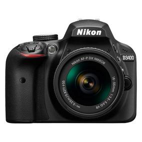 Câmera Nikon D3400 18-55mm Nota Fiscal E Garantia 1 Ano