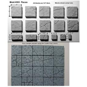 Cracked Floor #203 4x Cast Em Gesso Odontológico Tipo 3