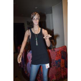 Paula Cahen Danvers Musculosa Color Negra