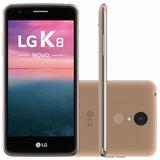Celular Smatphone Lg K8 Novo X240ds Dourado - Dual Chip,4g