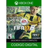 Juego Digital Xbox One Fifa 17 Envio Inmediato