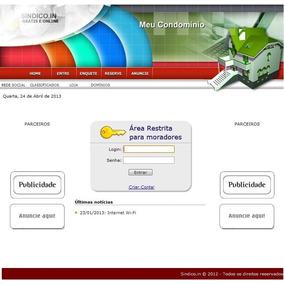 Script/site Php Administração De Condomínio Em Php