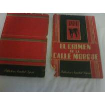 Libro De Edgar Allan Poe: El Crimen De La Calle Morgue...