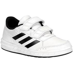 Tenis adidas Altasport Ba7458 Blanco-negro Niño Oi