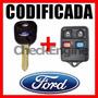 Copia Llave Codificada Control Ford Ecosport Fiesta Ranger 4