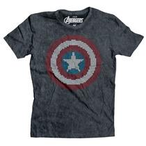 The Captain Logo Capitan America Mascara De Latex Marvel