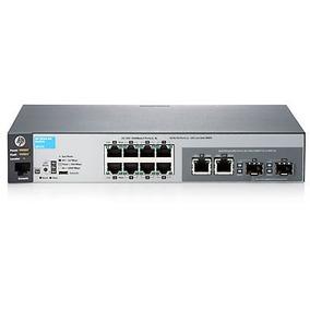 Switch Hp 2530-8g - 8 Puertos - Gigabit - 2 Sfp - Administra