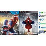 The Amazing Spiderman 1 - 2 Ps3 Digital Gcp