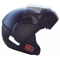 Capacete Ebf E8 Fosco Articulado Escamoteável Frete Grátis