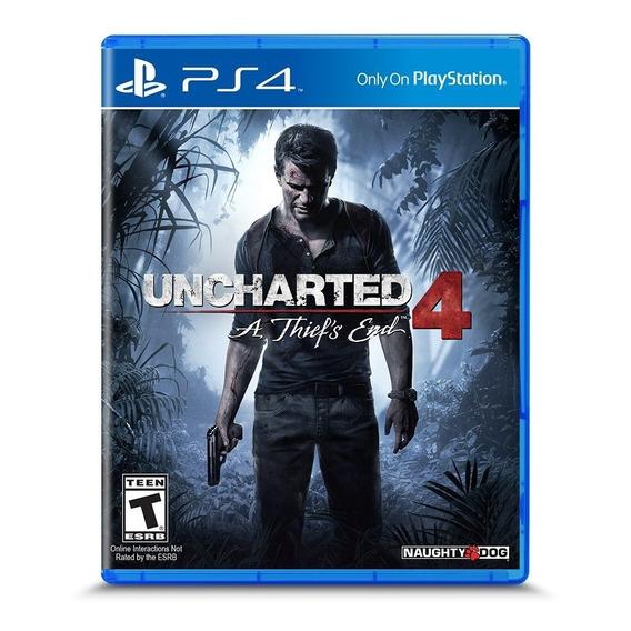 Uncharted 4 A Thief's End Ps4 Juego Fisico Espa?ol Latino
