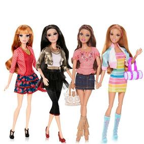 Coleção 04 Bonecas Barbie Life In The Dreamhouse Articuladas