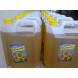 Aceite De Girasol X 10 Litros Bidon Incluido!!! Zona Norte