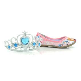Sapatilha Rosa Frozen Sugar Shoes + Brinde - Dc0009