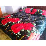 Cubrecama Cobertor Con Chiporro Modelo Ne410 - Acolchado